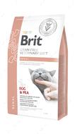 Беззерновая диета для котов при хронической почечной недостаточности Brit GF Veterinary Diets Cat Renal