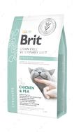Беззерновая диета для котов при мочекаменной болезни Brit GF Veterinary Diets Cat Struvite