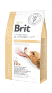 Беззерновая диета для собак при печеночной недостаточности Brit GF Veterinary Diets Dog Hepatic