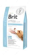 Беззерновая диета для собак при избыточном весе и ожирении ягненок, индейка и горох Brit GF Veterinary Diets Dog Obesity