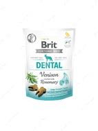 Функциональное лакомство для зубов с олениной и розмарином для собак  Brit Care Dog Functional Snack Dental Venison