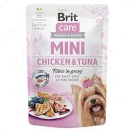 Влажный корм для собак с курицей и тунцом Brit Care Mini Chicken & Tuna