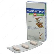 Каниквантел Плюс XL антигельминтик для собак и кошек с ароматом мяса Caniquantel Plus XL