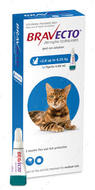 Бравекто СПОТ-ОН капли от блох и клещей для кошек 2,8 - 6,25 кг BRAVECTO Spot-On