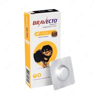 Таблетки Бравекто от блох и клещей для собак 2 - 4.5 кг Bravecto
