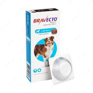 Таблетки Бравекто от блох и клещей для собак 20 - 40 кг Bravecto