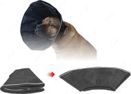 Ветеринарный воротник нейлоновый для собак легкий Dog Extremе