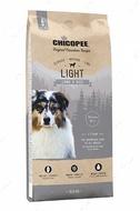 Сухой корм для собак с избыточным весом с мясом ягненка Chicopee Classic Nature Line Adult Light Lamb & Rice
