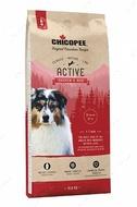 Сухой корм для рабочих и активных собак всех пород с мясом домашней птицы Chicopee Classic Nature Line Adult Active Chicken & Rice