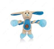 Игрушка с пищалкой для собак зайчик Charming Pet Pulleezz Bunny