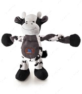 Игрушка с пищалкой для собак корова Charming Pet Pulleezz Cow