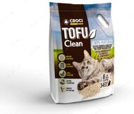 Наполнитель для котов Тофу комкующийся Cross Litter Tofu Clean