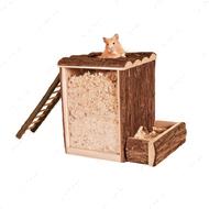 Деревянная башня под опилки для грызуна CROCI
