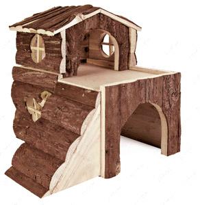 Деревянный дом Вилла для грызуна CROCI