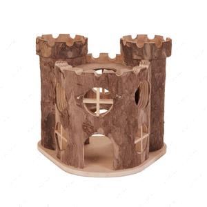 Деревянный дом Замок Элиза для грызуна CROCI