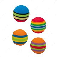 Игрушка для кота мяч радуга CROCI