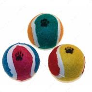 Игрушка для кота теннисный мячик с лапкой CROCI