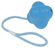 Игрушка для собак литой атом на веревке CROCI