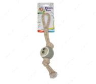 Игрушка для собак грейфер мяч c ручкой ECO CROCI