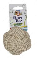 Игрушка для собак канат грейфер плетеный мяч ECO CROCI