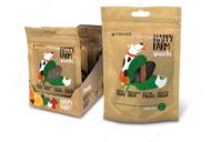 Лакомство мясное для собак курица со шпинатом HAPPY FARM CROCI