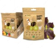 Лакомство мясное для собак ягненок с киви HAPPY FARM CROCI