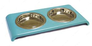 Миска для собак и котов DOPPIA CAT CROCI