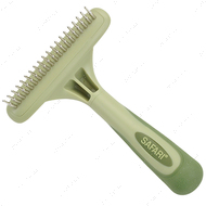 Однорядные грабли для подшерстка собак Safari Dog Rotating Pin Undercoat Rake