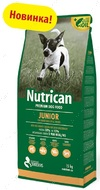 Сухой корм для щенков всех пород Nutrican JUNIOR