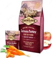 Сухой корм для котят с лососем и индейкой Salmon & Turkey for Kittens