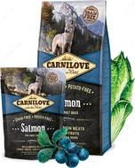Сухой корм для взрослых собак всех пород с лососем Carnilove adult dogs Salmon