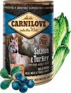 Влажный корм для собак лосось и индейка Carnilove Salmon & Turkey for adult dogs