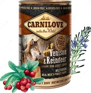 Влажный корм для собак с северным оленем Carnilove Reindeer for adult dogs