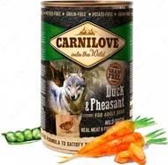 Влажный корм для собак с уткой и фазаном Carnilove Duck & Pheasant for adult dogs