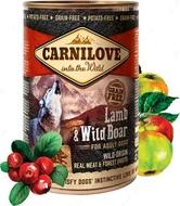 Влажный корм для собак с ягненком и кабаном Carnilove Lamb & Wild Boar for adult dogs