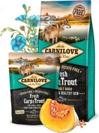 Сухой корм для взрослых собак всех пород с свежим мясом карпа и форели Carnilove Fresh Carp & Trout