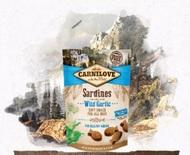 Лакомство для собак сардина и черемшой Carnilove Dog Semi-Moist Sardines enriched with Wild garlic