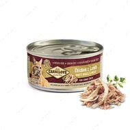 Полноценный влажный корм для взрослых кошек с курицей и ягненком Chicken & Lamb for adult cats