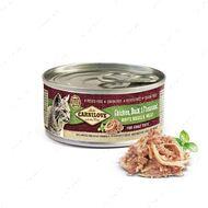 Полноценный влажный корм для взрослых кошек с курицей, уткой и фазаном Chicken, Duck & Pheasant for adult cats