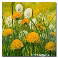 """Алмазная мозаика """"Весенняя поляна"""", полная выкладка"""