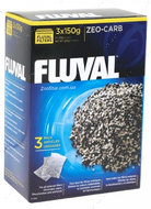 Активированный уголь Fluval Zeo-Carb, 3х150