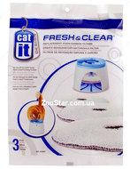 """Сменный губчато-угольный фильтр  для малого питьевого фонтана """"DR-5917 Hagen Catit Design Fresh&Clear"""", 3 штуки"""