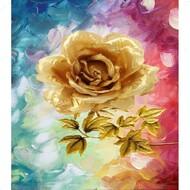 Алмазная мозаика без рамки Dreamtoys Чайная роза