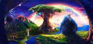Алмазная мозаика без рамки Dreamtoys Чужая планета
