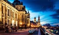 Алмазная мозаика без рамки Dreamtoys Терраса Брюля в Дрездене