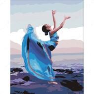 Картина по номерам Dreamtoys Танцовщица