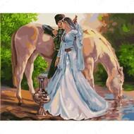 Картина по номерам Dreamtoys У водопоя