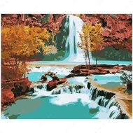 Картина по номерам Dreamtoys У подножья водопада