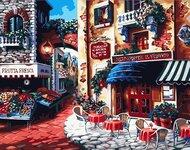 Картина по номерам Dreamtoys Уютное кафе