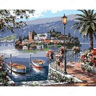 Картина по номерам Dreamtoys Уютный островок
